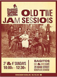 Old Time Jam Sessions Poster