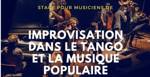 Workshop for Musicians /// The Improvisation In Tango Music
