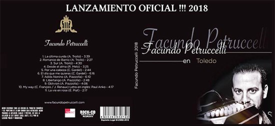 CD by Facundo Petruccelli - Argentina