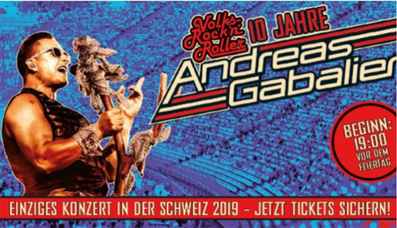 Andreas Gabalier concerts