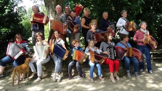 March 2020 Accordion Course in Brittany - France