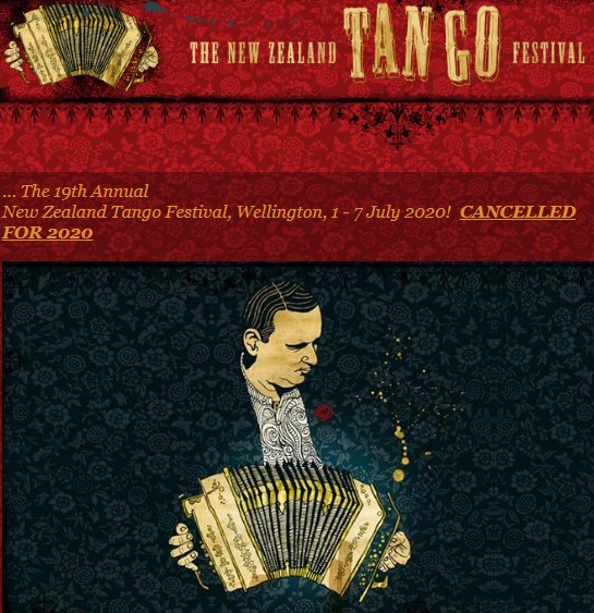 Tango Festival in Wellington - New Zealand